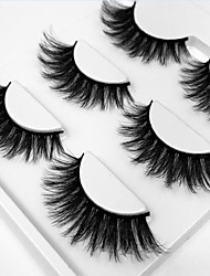 cheap -Eye 1pcs Natural / Curly Daily Makeup Full Strip Lashes / Thick Make Up Professional / Portable Professional Level / Portable Daily /