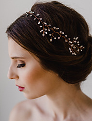 cheap -Imitation Pearl / Others Headpiece with Rhinestone 1 pc Wedding / Special Occasion Headpiece