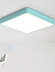 cheap -Flush Mount Ambient Light - Dimmable, 220-240V, Dimmable With Remote Control, Bulb Included / 15-20㎡ / LED Integrated