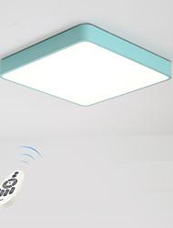 abordables -Montage du flux Lumière d'ambiance Métal Intensité Réglable 220-240V Dimmable avec télécommande Ampoule incluse / LED Intégré