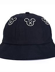 Недорогие -Жен. Винтаж / Классический Бейсболка / Шляпа от солнца Однотонный / Цветочный принт / Геометрический принт