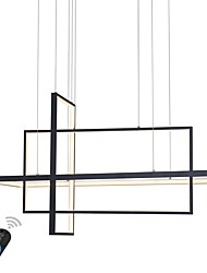 cheap -UMEI™ Linear Chandelier Ambient Light - Dimmable, 110-120V / 220-240V, Warm White / White / Dimmable With Remote Control, LED Light Source Included / 10-15㎡ / LED Integrated / FCC