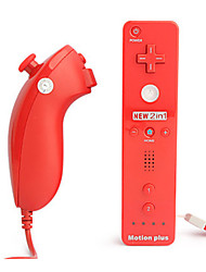 baratos -TGZ-WI102 Com Fio Controladores de jogos Para Wii ,  Controladores de jogos ABS 1 pcs unidade