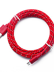 Недорогие -Micro USB Кабель >=3m / 9.8ft Быстрая зарядка TPE Адаптер USB-кабеля Назначение Samsung / Huawei / LG