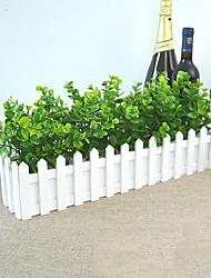 abordables -Fleurs artificielles 1 Une succursale Classique style pastoral Plantes Arbre de Noël