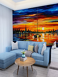 economico -Murale Tela Rivestimento pareti - adesivo richiesta Artistico / Modello / 3D