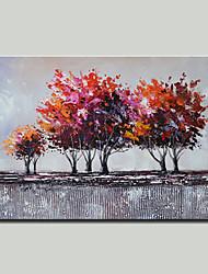 abordables -mintura® peint à la main des arbres abstraits peinture à l'huile sur toile moderne photo d'art mural pour la décoration prêt à accrocher