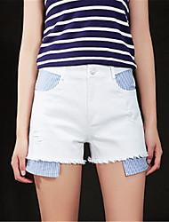 povoljno -Žene Osnovni Kratke hlače Hlače Jednobojni