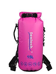 Недорогие -Sealock 15 L Водонепроницаемый сухой мешок Дожденепроницаемый, Пригодно для носки для Плавание / Дайвинг / Серфинг