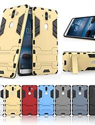 abordables -Funda Para Nokia Nokia 9 con Soporte Funda Trasera Un Color Dura ordenador personal para Nokia 9
