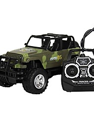 Недорогие -Машинка на радиоуправлении 10.2 CM Грузовик 1:18 Коллекторный электромотор КМ / Ч