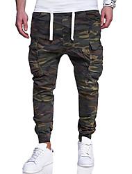 economico -Per uomo Essenziale / Militare Chino Pantaloni - Monocolore / Camouflage