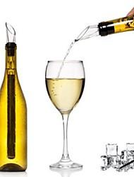 baratos -Pourers vinho silica Gel / Aço Inoxidável, Vinho Acessórios Alta qualidade Criativo para Barware Fácil Uso / Novidade criativa 1pç