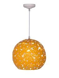 baratos -QIHengZhaoMing Luzes Pingente Luz Ambiente 110-120V / 220-240V, Branco Quente, Lâmpada Incluída
