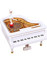 cheap -Music Box Piano Classic / Romantic Rotating Kids Gift Female