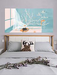 Недорогие -Декоративные наклейки на стены - 3D наклейки Абстракция / Пейзаж Гостиная / Спальня