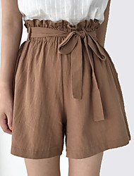 cheap -Women's Basic Shorts Pants - Solid Colored