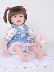 cheap -FeelWind Reborn Doll Baby Girl 22 inch lifelike, Natural Skin Tone Kid's Girls' Gift