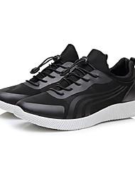 economico -Per uomo Pelliccia sintetica Primavera & Autunno Comoda scarpe da ginnastica Corsa / Basket Nero / Bianco / nero