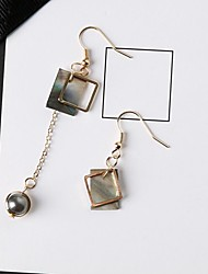 cheap -Women's Mismatched Mismatch Earrings - Stylish, Classic Gold For Daily