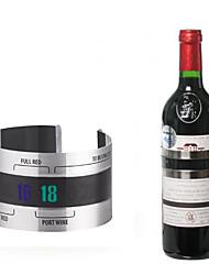 Недорогие -нержавеющая сталь бутылка вина термометр термометр манжета стиль бар