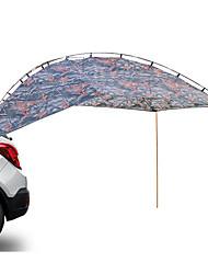 baratos -4 pessoas Barraca de Acampamento Familiar Única Camada Poste Barraca de acampamento Ao ar livre Leve, Á Prova-de-Chuva, A Prova de Vento para Campismo / Escursão / Espeleologismo / Viajar / Piquenique
