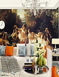 abordables -Mural Toile Revêtement - adhésif requis Décoration artistique / 3D / Ange