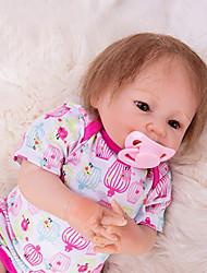 preiswerte -Lebensechte Puppe Baby Mädchen 18 Zoll Silikon - lebensecht Kinder Mädchen Geschenk