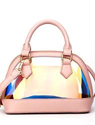 baratos -Mulheres Bolsas PVC / PU Conjuntos de saco 2 Pcs Purse Set Ziper Azul / Rosa