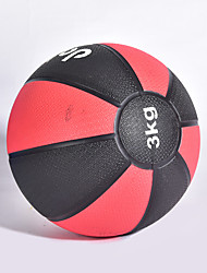 baratos -Medizinball Com 1 pcs 15 cm Diâmetro Borracha Treinamento de Resistência, Fortalecimento do Core, Equilíbrio e Coordenação, Construtor Muscular Para Exercício e Atividade Física / Ginásio