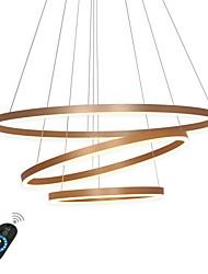Недорогие -Ecolight™ геометрический Люстры и лампы Рассеянное освещение Металл Акрил Регулируется, Диммируемая 110-120Вольт / 220-240Вольт Белый / Диммируемый с дистанционным управлением / Wi-Fi Smart / FCC