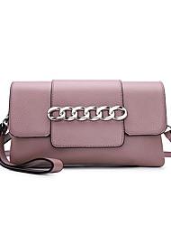 baratos -sacos de mulheres bolsas de ombro de couro de napa blushing rosa / vermelho / preto