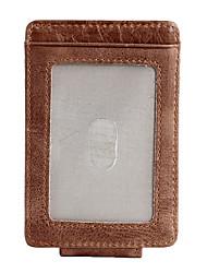 baratos -sacos de homens carteira de couro nappa café com zíper