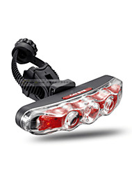 cheap -Rear Bike Light / Safety Light / Tail Light LED Cycling Waterproof, Portable, Easy Carrying AAA 10 lm AAA Natural White Cycling / Bike - ROCKBROS