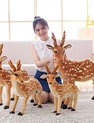 baratos -Veado Animais de Pelúcia Animais Adorável Acrílico / Algodão Para Meninas Brinquedos Dom 1 pcs
