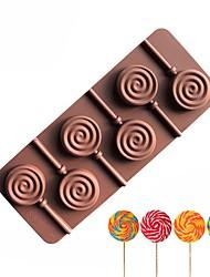 Недорогие -Инструменты для выпечки Силикон Творчество / Своими руками Шоколад / Лед / конфеты Формы для пирожных / Формы для нарезки печенья 1шт