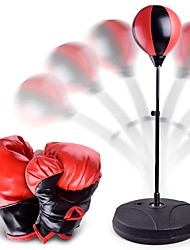 Недорогие -Тренировочные боксерские перчатки Для Бокс Рукавицы Бокс, Стреч, Фитнес PU Детские Все - Красный