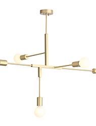 Недорогие -Ecolight™ 5-Light Свеча-стиль / Спутник / Оригинальные Люстры и лампы Рассеянное освещение Окрашенные отделки Металл Творчество, Регулируется, Расширенный 110-120Вольт / 220-240Вольт / FCC / VDE