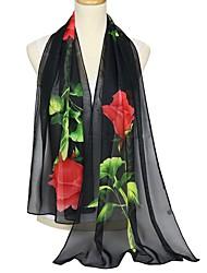 baratos -Mulheres Básico Retângular - Renda Floral