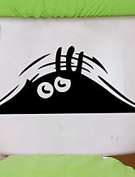 Недорогие -Наклейки и ленты Новый дизайн / Простой / Самоклеющиеся Обычные / Модерн ПВХ 1шт Украшение ванной комнаты