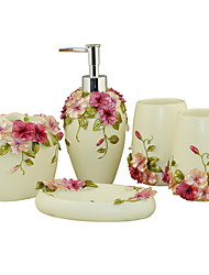 cheap -Bathroom Accessory Set New Design / Multifunction Contemporary Resin 5pcs - Bathroom Single