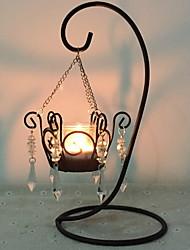 baratos -Estilo Europeu Ferro Suporte de Vela / Velas Vela de Chá / Castiçal 1pç, Candle / Candle Holder