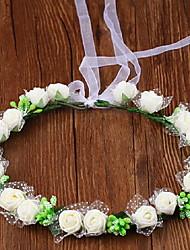 Недорогие -Искусственные Цветы 1 Филиал Односпальный комплект (Ш 150 x Д 200 см) Стиль / Свадьба Розы Букеты на стол