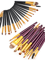cheap -20-Pack Makeup Brushes Professional Makeup Brush Set / Eyeshadow Brush Artificial Fibre Brush / Nylon Brush / Other Brush Eco-friendly / Professional / Soft Wooden / Bamboo