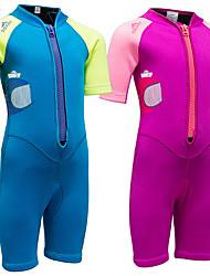 お買い得  -SBART 男の子 / 女の子 ショートウェットスーツ 2mm ダイビングスーツ 半袖