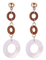 cheap -Women's Drop Earrings - Stylish Gold For Birthday / Office & Career