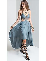 economico -Per donna Fodero / Swing Vestito Asimmetrico