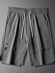 cheap -Men's Basic Sweatpants / Shorts Pants - Solid Colored / Geometric