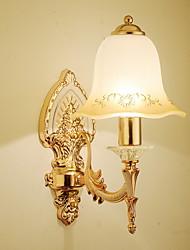 abordables -Cool Vintage Lámparas de pared Sala de estar / Dormitorio Metal Luz de pared 220-240V 40 W