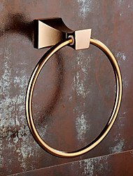 abordables -Barre porte-serviette Design nouveau Moderne Laiton 1pc - Salle de Bain Montage mural